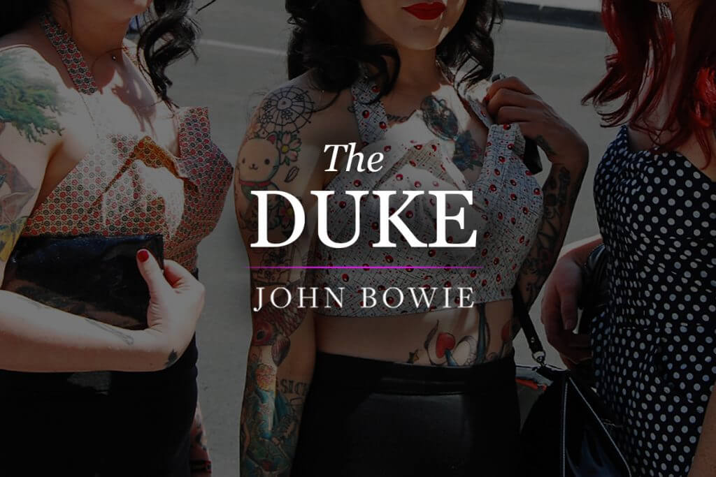 Feature Image: poem, The Duke by John Bowie
