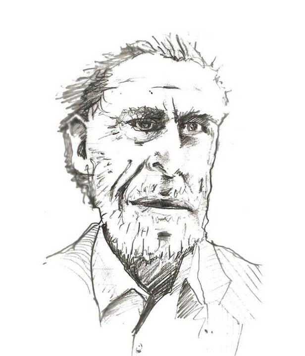 Bukowski Portrait
