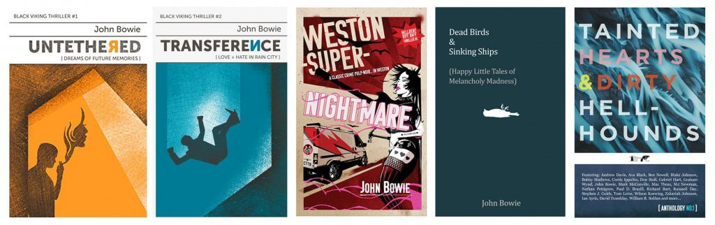 John Bowie Books 2021
