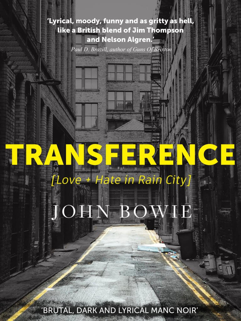 Manc Noir: Transference Book Cover