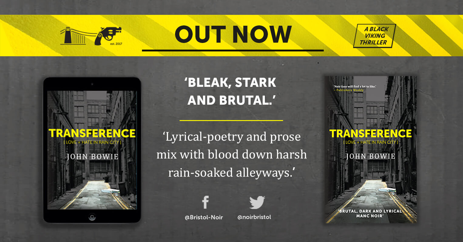 OUT NOW: TRANSFERENCE [LOVE + HATE IN RAIN CITY]